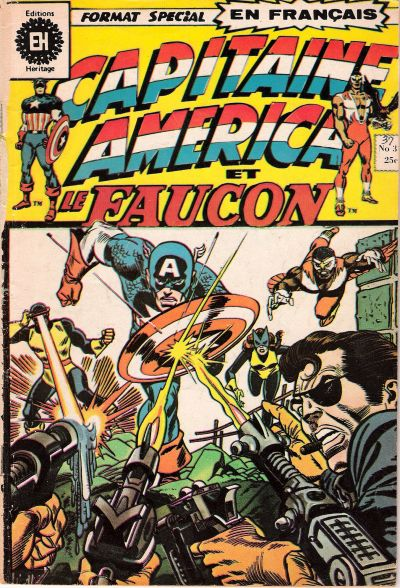 Cover for Capitaine America (1970 series) #37