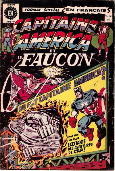 Cover for Capitaine America (Editions Héritage, 1970 series) #38