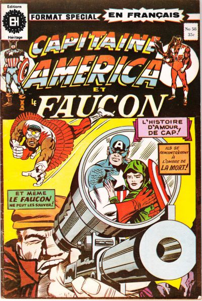 Cover for Capitaine America (Editions Héritage, 1970 series) #58