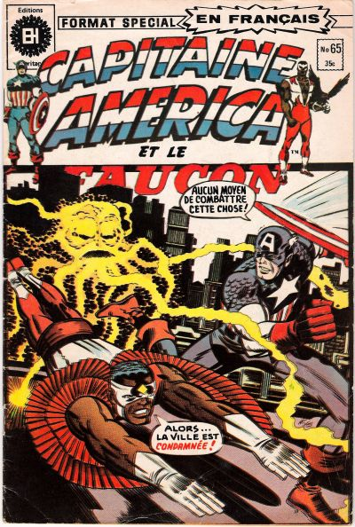 Cover for Capitaine America (Editions Héritage, 1970 series) #65