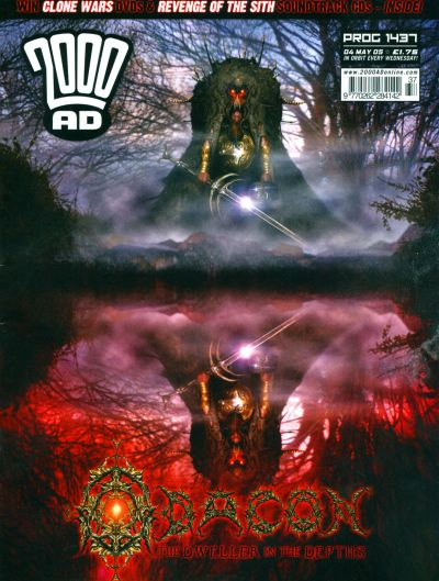 Cover for 2000 AD (Rebellion, 2001 series) #1437