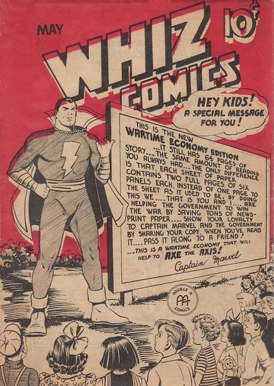 Cover for Whiz Comics (Anglo-American Publishing Company Limited, 1942 series) #v2#5