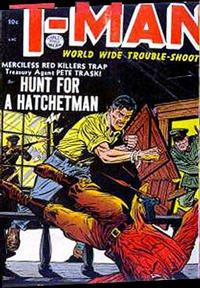 Cover Thumbnail for T-Man (Quality Comics, 1951 series) #16
