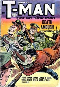 Cover Thumbnail for T-Man (Quality Comics, 1951 series) #19