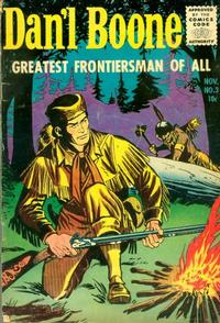 Cover Thumbnail for Dan'l Boone (Magazine Enterprises, 1955 series) #3