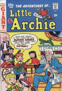 Cover for The Adventures of Little Archie (Archie, 1961 series) #52