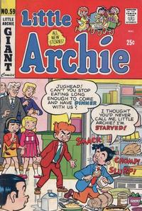 Cover for Little Archie (Archie, 1969 series) #59