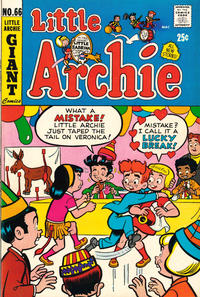 Cover for Little Archie (Archie, 1969 series) #66