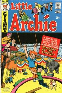 Cover Thumbnail for Little Archie (Archie, 1969 series) #80