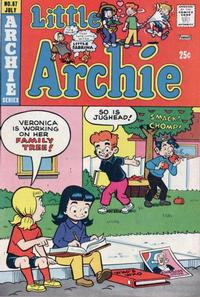 Cover Thumbnail for Little Archie (Archie, 1969 series) #87