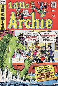 Cover Thumbnail for Little Archie (Archie, 1969 series) #89