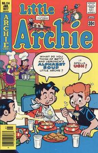 Cover Thumbnail for Little Archie (Archie, 1969 series) #114