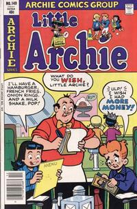 Cover Thumbnail for Little Archie (Archie, 1969 series) #149