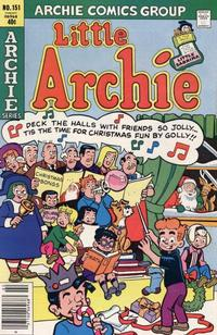 Cover Thumbnail for Little Archie (Archie, 1969 series) #151