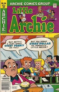 Cover Thumbnail for The Adventures of Little Archie (Archie, 1959 series) #168