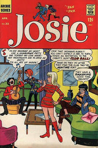 Cover Thumbnail for Josie (Archie, 1965 series) #33