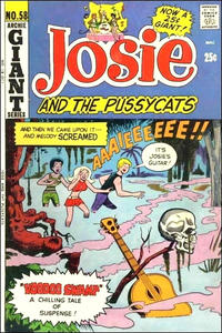 Cover Thumbnail for Josie and the Pussycats (Archie, 1969 series) #58