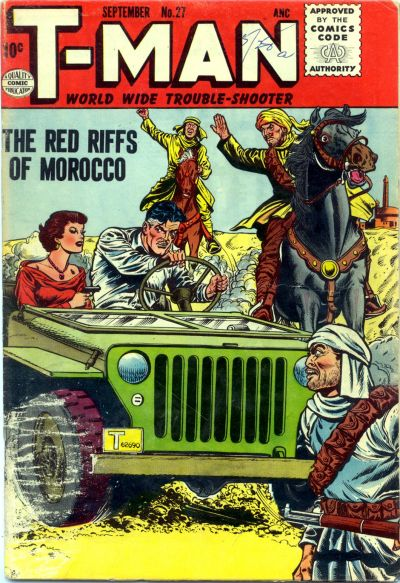 Cover for T-Man (1951 series) #27