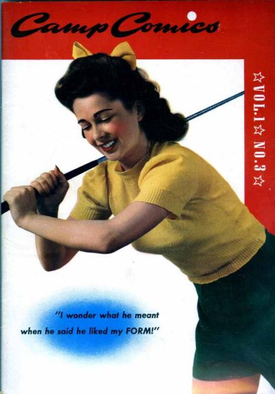 Cover for Camp Comics (Dell, 1942 series) #3