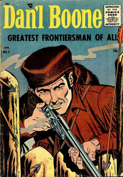 Cover for Dan'l Boone (1955 series) #5