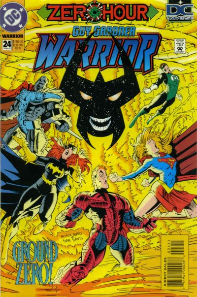 Cover for Guy Gardner: Warrior (DC, 1994 series) #24