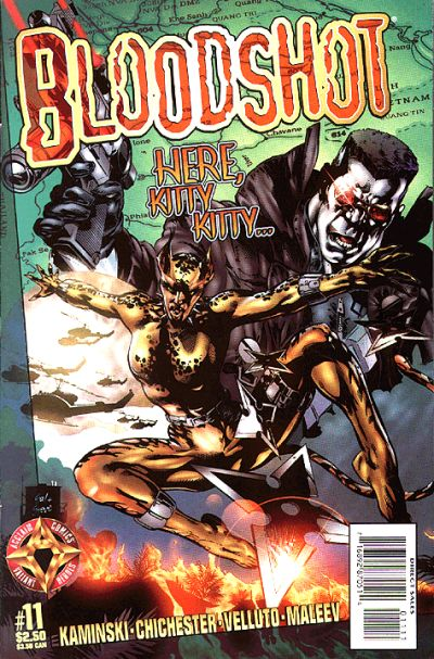 Cover for Bloodshot (Acclaim / Valiant, 1997 series) #11