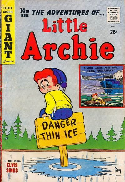 Cover for The Adventures of Little Archie (1959 series) #14