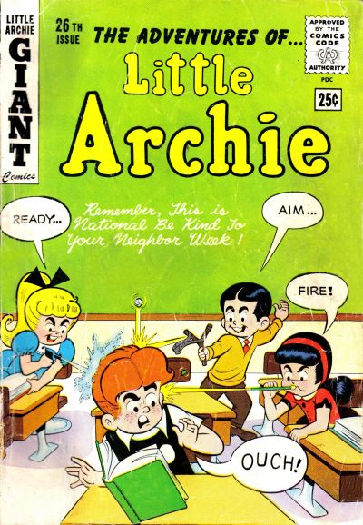 Cover for The Adventures of Little Archie (Archie, 1961 series) #26