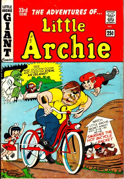 Cover for The Adventures of Little Archie (1959 series) #33