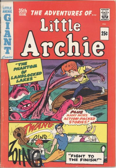 Cover for The Adventures of Little Archie (Archie, 1961 series) #35