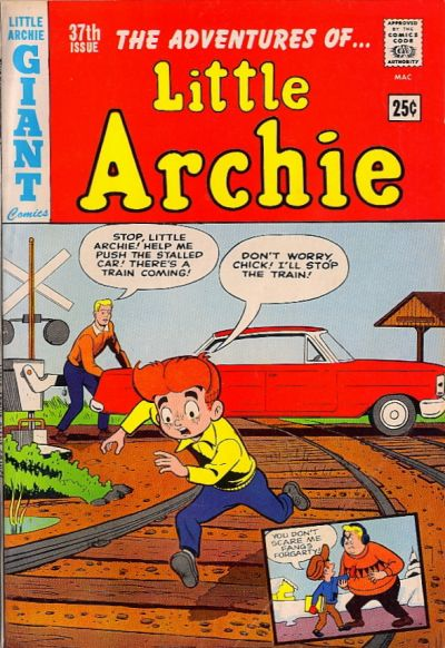 Cover for The Adventures of Little Archie (1959 series) #37