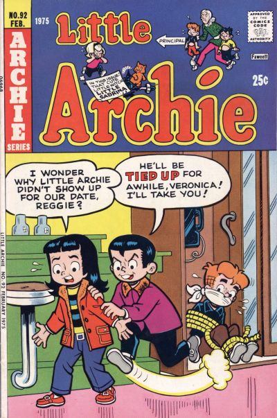 Cover for Little Archie (Archie, 1969 series) #92