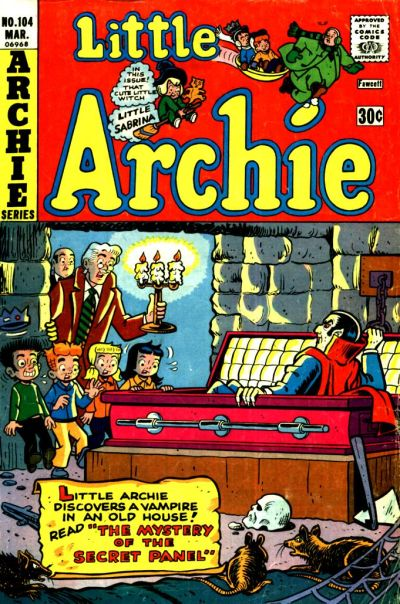 Cover for Little Archie (Archie, 1969 series) #104