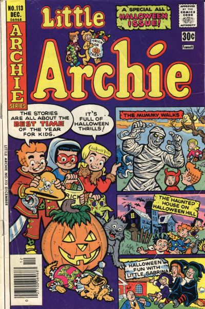 Cover for Little Archie (Archie, 1969 series) #113