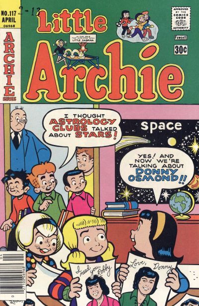 Cover for Little Archie (Archie, 1969 series) #117
