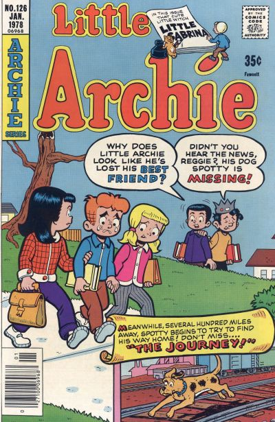 Cover for The Adventures of Little Archie (1959 series) #126