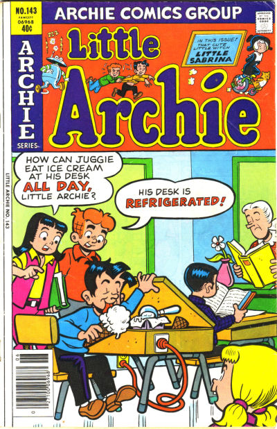 Cover for Little Archie (Archie, 1969 series) #143