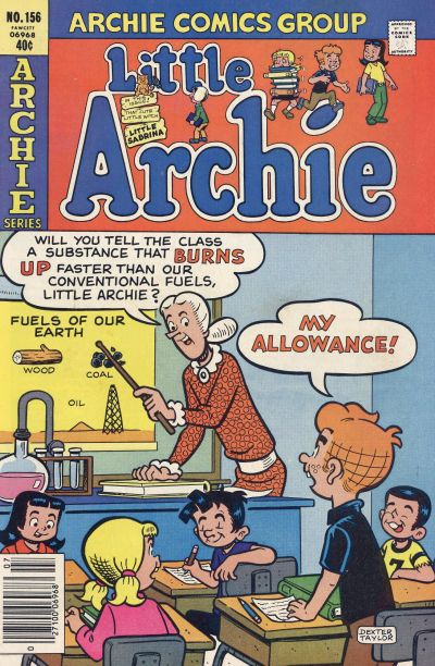 Cover for Little Archie (Archie, 1969 series) #156
