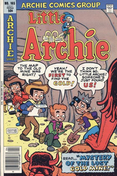 Cover for Little Archie (Archie, 1969 series) #165