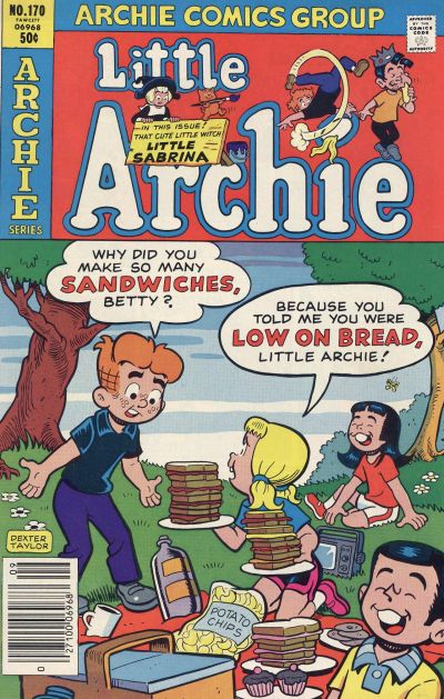Cover for Little Archie (Archie, 1969 series) #170