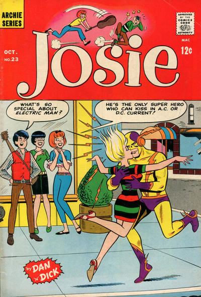 Cover for Josie (Archie, 1965 series) #23