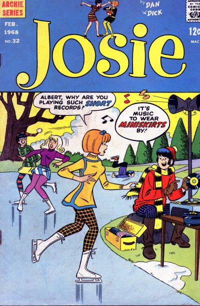 Cover for Josie (Archie, 1965 series) #32