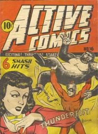 Cover Thumbnail for Active Comics (Bell Features, 1942 series) #16