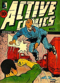 Cover Thumbnail for Active Comics (Bell Features, 1942 series) #25