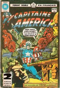 Cover Thumbnail for Capitaine America (Editions Héritage, 1970 series) #86/87