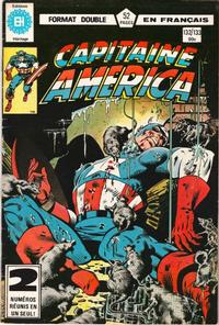 Cover Thumbnail for Capitaine America (Editions Héritage, 1970 series) #132/133