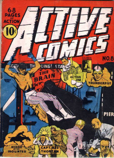 Cover for Active Comics (Bell Features, 1942 series) #8