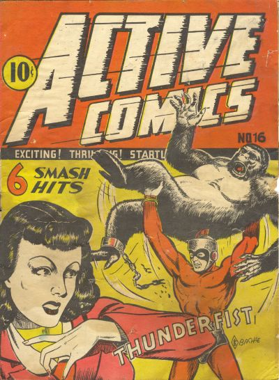 Cover for Active Comics (1942 series) #16
