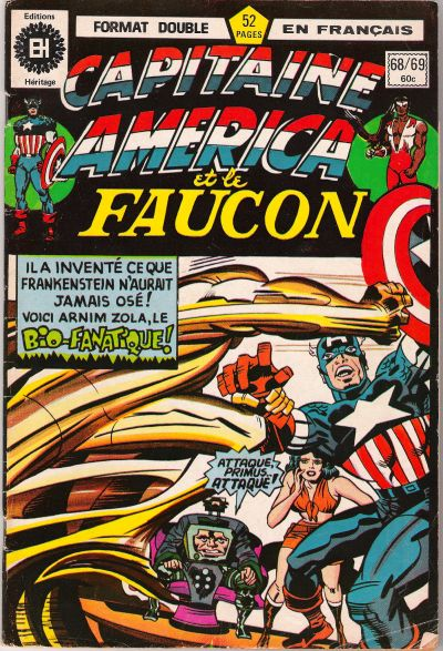 Cover for Capitaine America (1970 series) #68/69