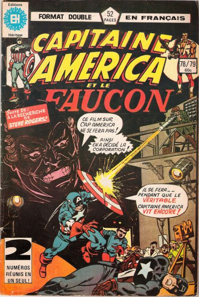 Cover for Capitaine America (Editions Héritage, 1970 series) #78/79